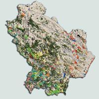 Cartina Geografica Regione Basilicata.Corona P 2006 La Carta Forestale Della Basilicata Forest 3 325 326